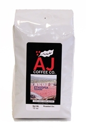 12 ounce bag of Sidama Ethiopia - Ardi | whole bean coffee